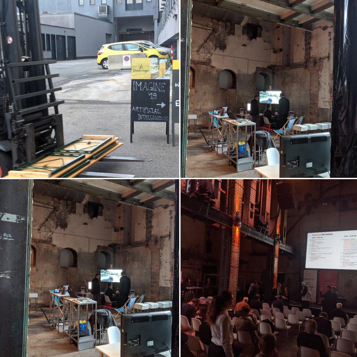 test Twitter Media - AI #imagine19 Konferenz: Turing, Symbole und Demokratie u.a. #ottakringerBrauerei https://t.co/VwBXkX6CUW