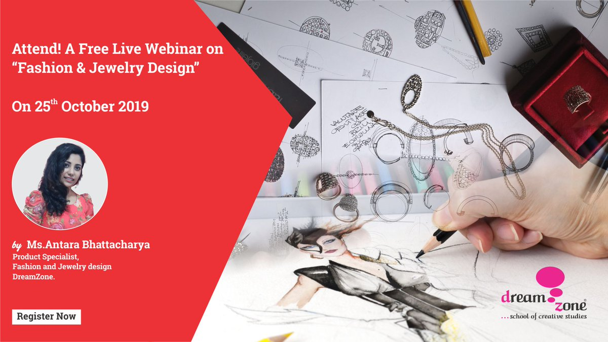 Dreamzone School Of Creative Studies On Twitter Join Our Upcoming Fashion Design Webinar On 25 10 2019 By Ms Antara Bhattacharya The Product Specialist In Dream Zone Don T Miss Out Book Your Seat Now