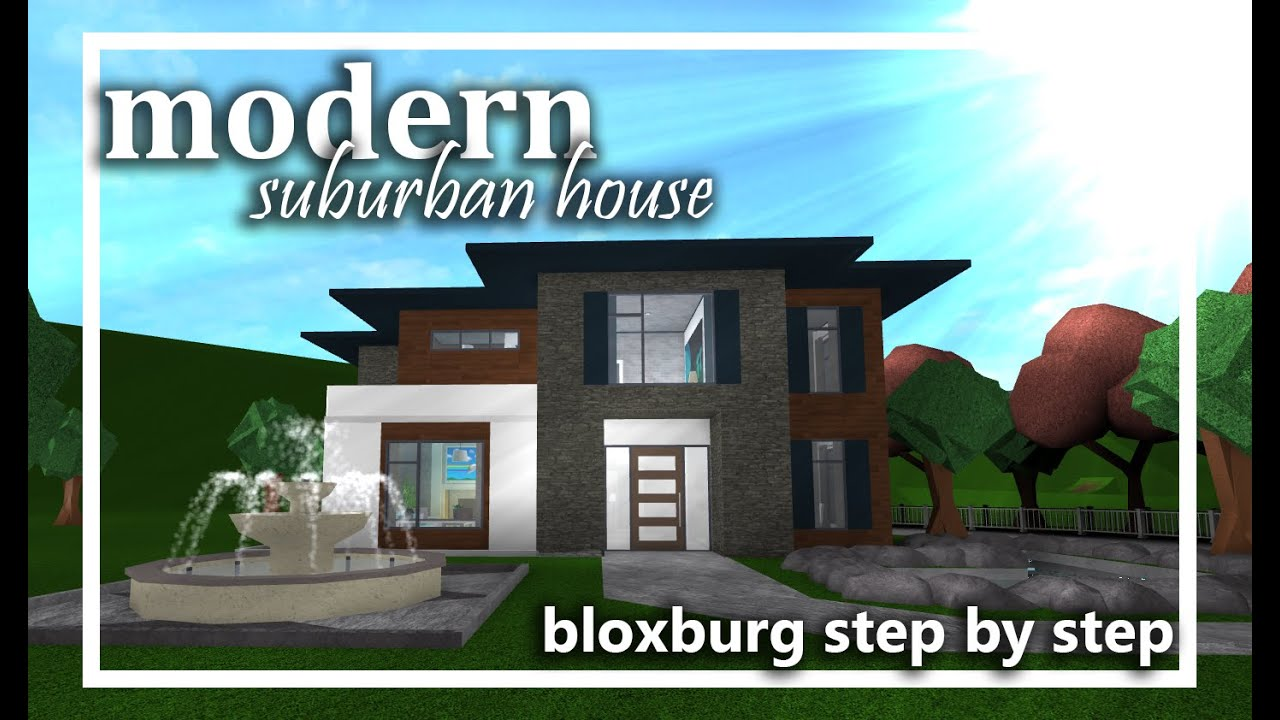 Modern Roblox Houses Bloxburg Small Modern House Bloxburg