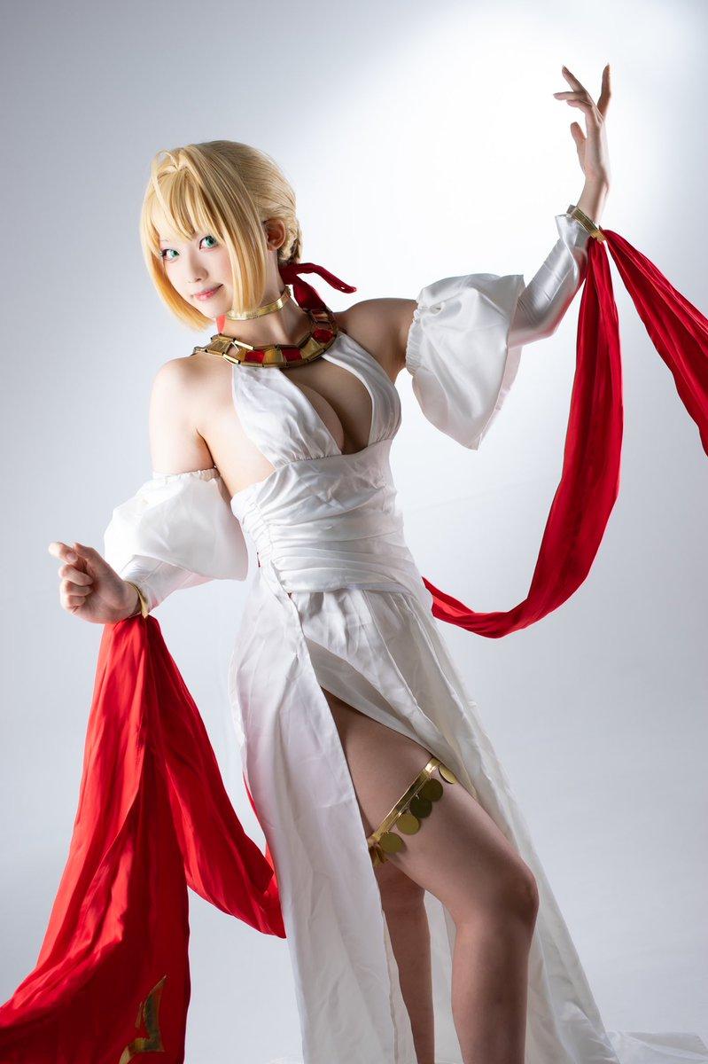 【✱コスプレ】Fate/GrandOrder         英霊正装 ネロ・クラウディウス🌹🌹🌹🌹🌹🌹🌹🌹🌹🌹🌹🌹photo→Sharaさん(@sugasugamomiage )
