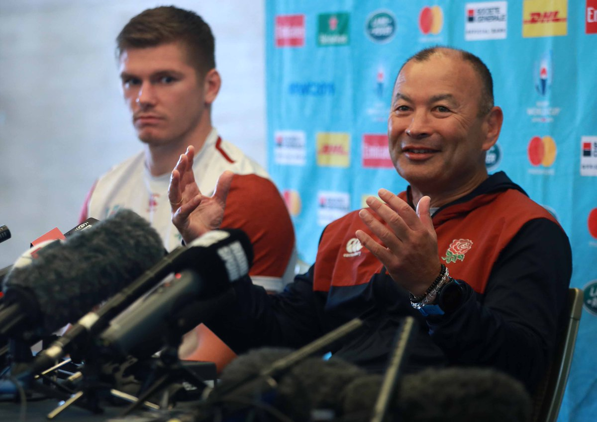 test Twitter Media - Eddie Jones claims his side were spied on from an apartment block during a training session ahead of England's Rugby World Cup semi-final against New Zealand: https://t.co/rMXDXhDubt https://t.co/C9CxQQxEUL
