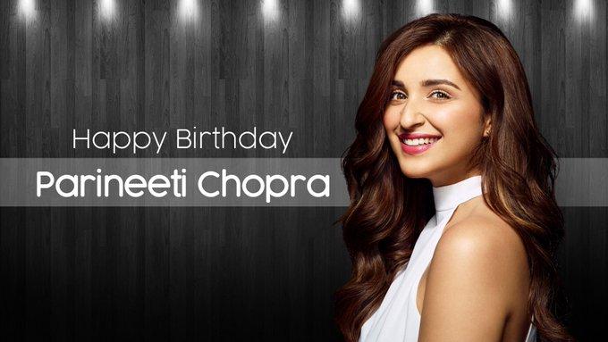 Duke wishes a very Happy Birthday to Parineeti Chopra.