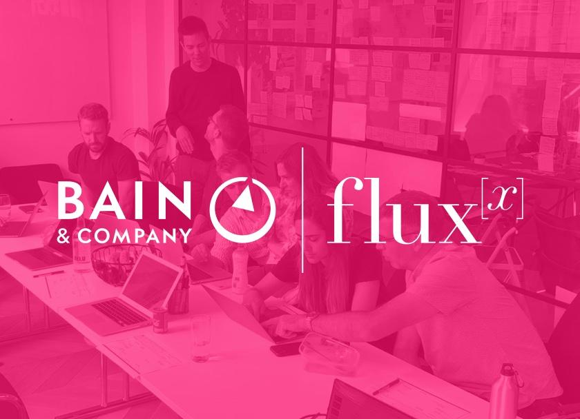 News: a few months ago, we merged with @FluxxStudios. Now Fluxx has been appointed as an innovation partner for  @bainalerts in EMEA.   https://t.co/tkZVix6cp1  #strategy #digitaltransformation #bainfluxx https://t.co/YQWLGqTir1
