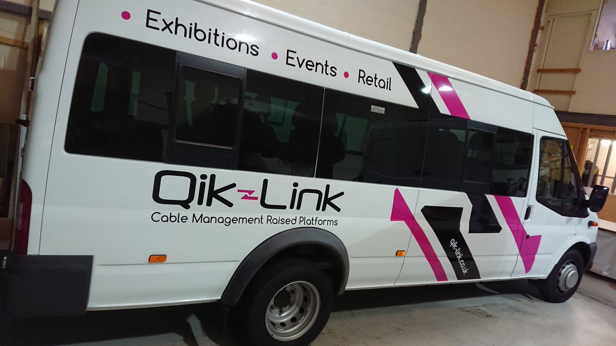 The new @Qik_Link / @rmf_raisedfloor sponsored @BuckbyAFC Mini Bus ready for action! Signage by L & N Graphic Designs 📞 01788 833020 📧 l_ngraphicdesigns@hotmail.co.uk #signs #signage #vehiclesignage #brandawareness #lngraphicdesigns #rugby #coventry #smcov #covhour