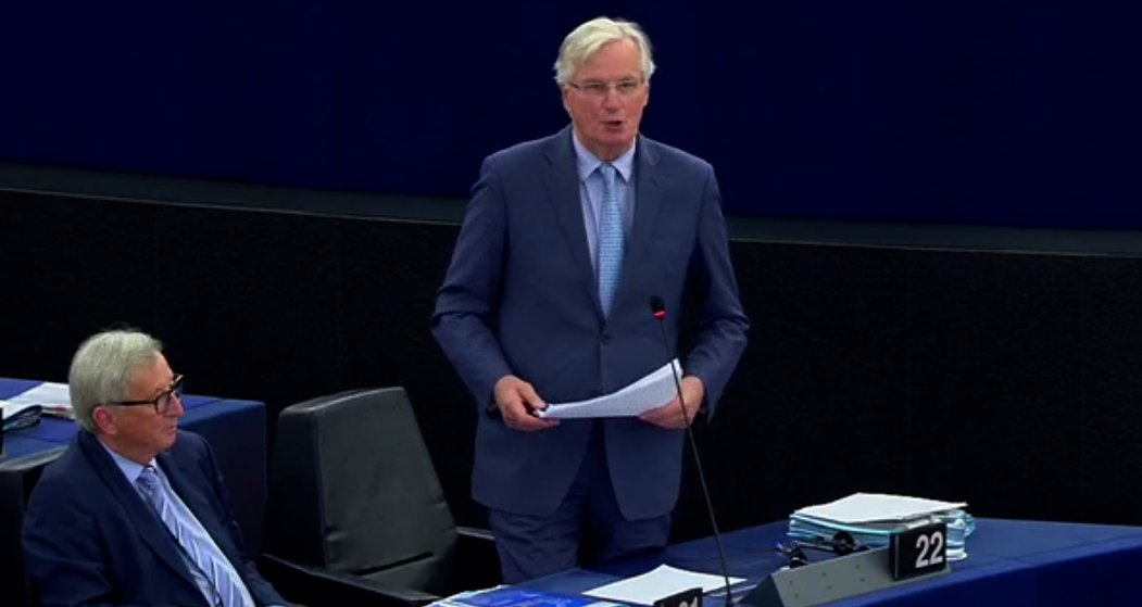 If Britain wants an orderly exit, which is far better than a disorderly exit, then this is the only possible agreement, says @MichelBarnier. #brexit