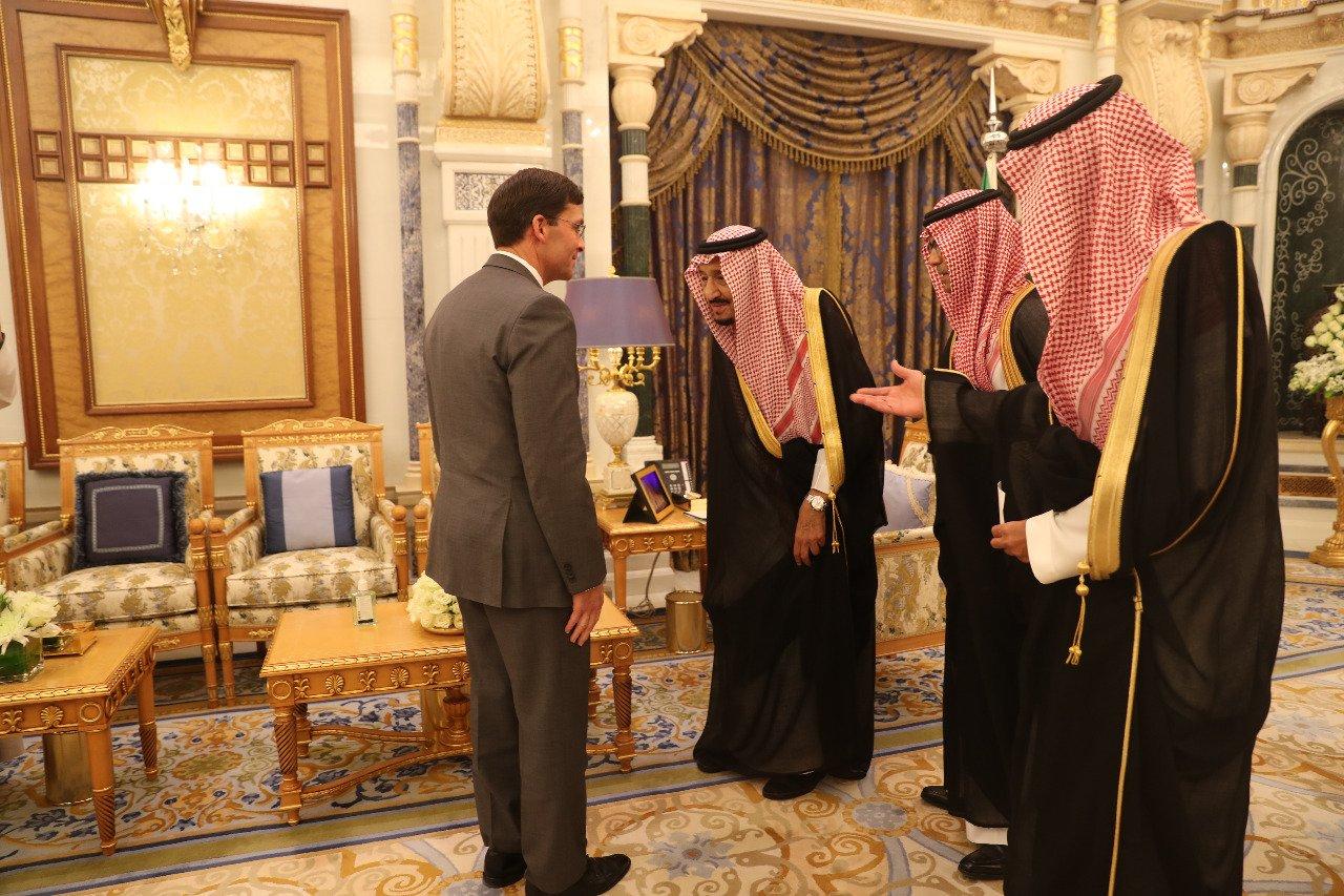 اهلا بالولايات المتحدة الامريكية في السعودية النهضة