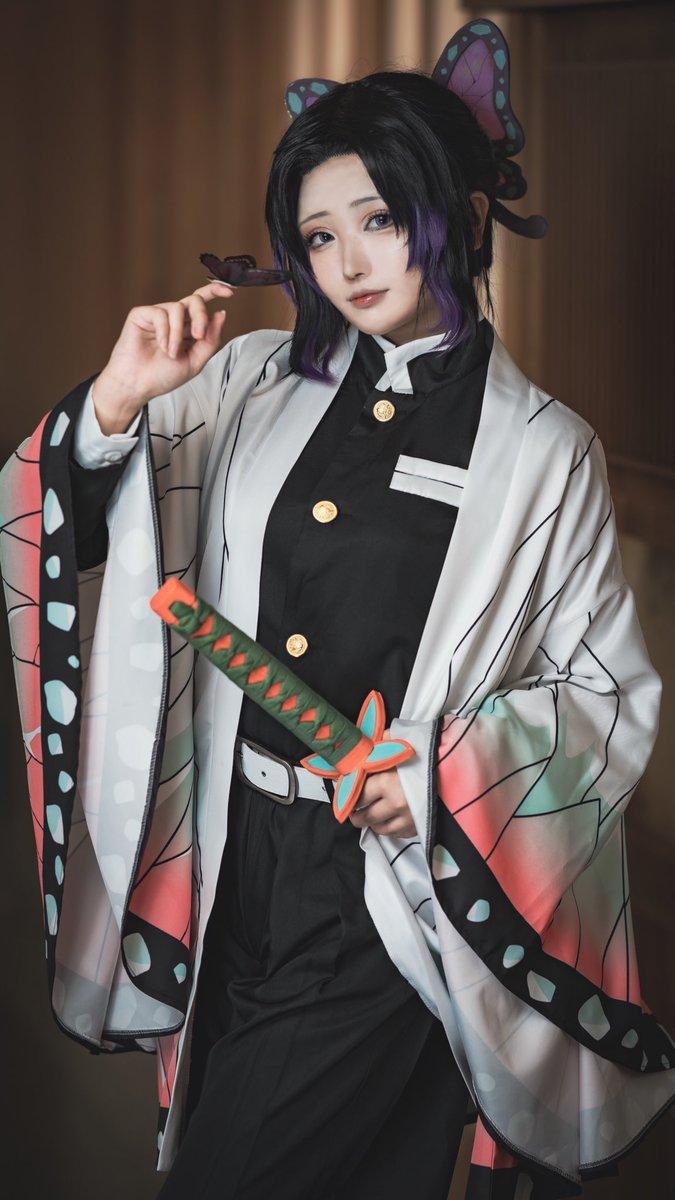 【cosplay】鬼滅の刃🦋 蟲柱 🦋         胡蝶 しのぶ  photo📸とうきちゅん( @Touki_cos )