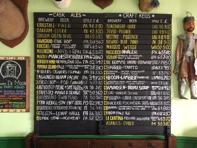 test Twitter Media - Here's Tuesday's Beers 😁 #Huddersfield #CraftBeer #realale https://t.co/Dlc1S657P3