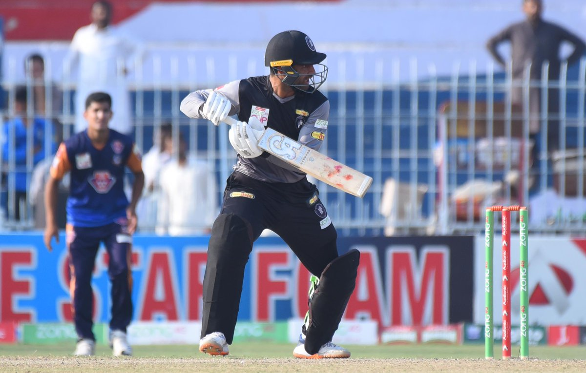 Khyber Pakhtunkhwa defeat Central Punjab by 7 wickets to qualify for the semi-finals of the National T20 Cup