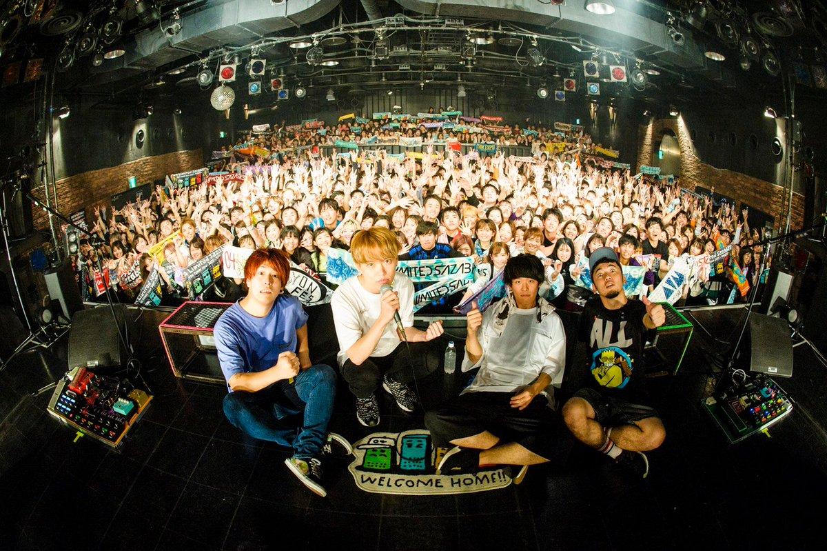 「YON TOWN tour 2019~町内GIG~」ファイナル、広島CLUB QUATTRO公演終了じゃーーーっ!ツアーの感想は「#町内GIG」で投稿して欲しいのう!また皆の衆に会えるのを楽しみにしとるぞい!