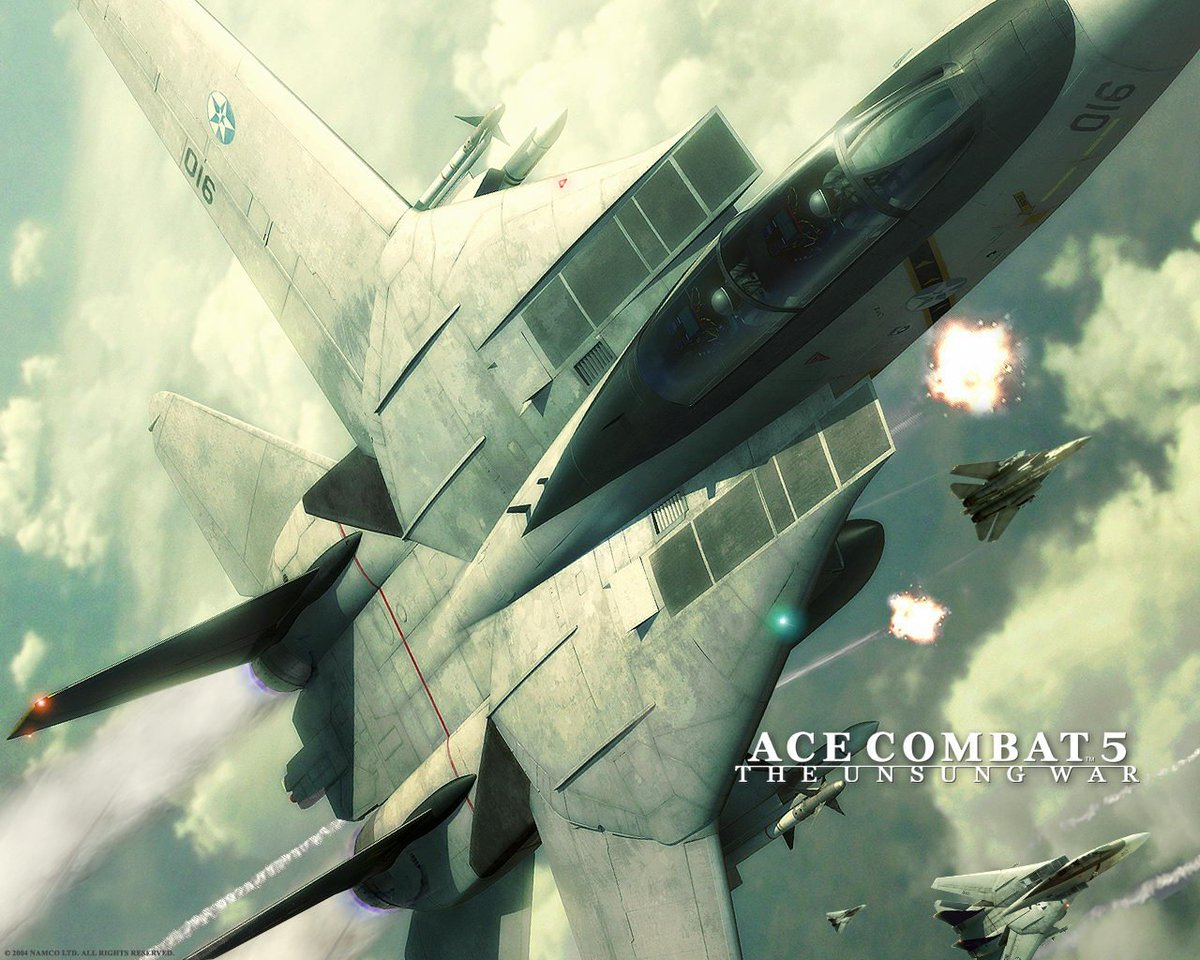 """""""15 years ago, there was a war.""""  Happy 15th Anniversary! #AceCombat5 #TheUnsungWar #SquadronLeader #AceCombat https://t.co/II6mNrf84q"""