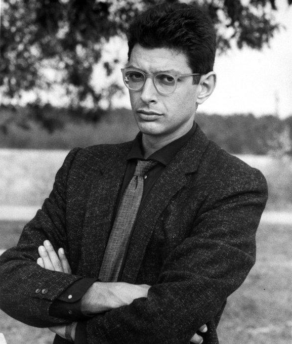 Happy birthday to Jeff Goldblum, born October 22, 1952.