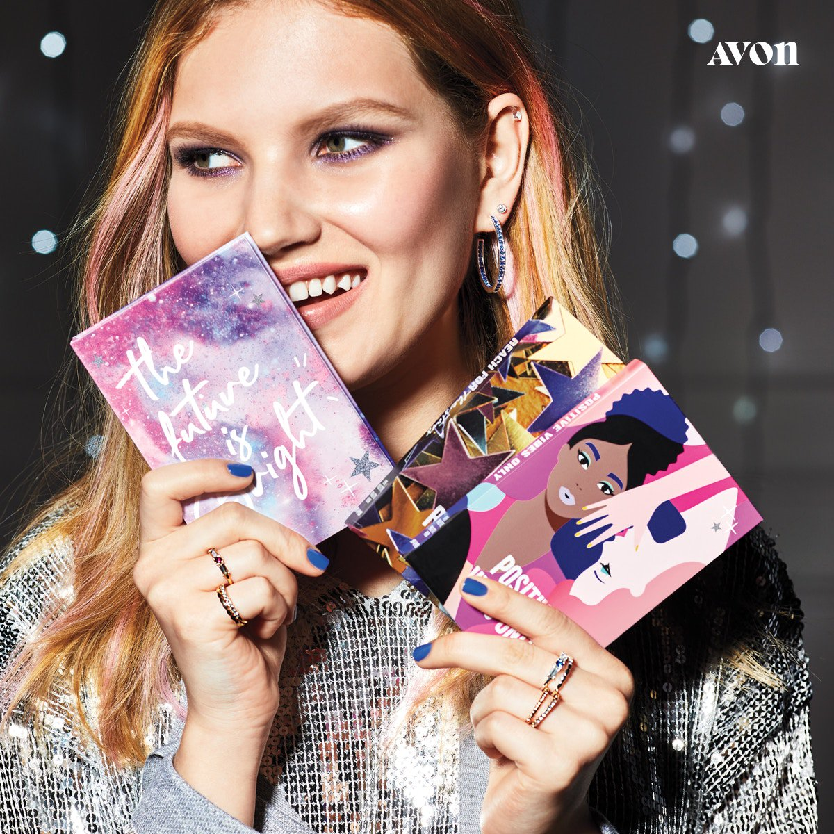 Scan our library of limited-edition makeup palettes that slip seamlessly into a star-studded book sleeve. You don't even need a library card! 😉📚   #makeup #holidaybeauty #holidaymakeup #giftideas