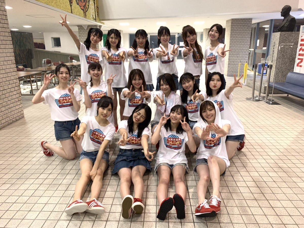 たのしい最高の千穐楽になりました!AKB48全国ツアー@苫小牧本当にありがとうございました😊そしてツアーに関わった全ての皆様、感謝しています、お疲れ様でした🙇♀️またツアーできますように…!#AKB48全国ツアー