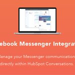 Introducing: HubSpot's Messenger integration! Manage all your Facebook Messenger communications directly within HubSpot Conversations. Get started for free: https://t.co/LIlu4r8E5j