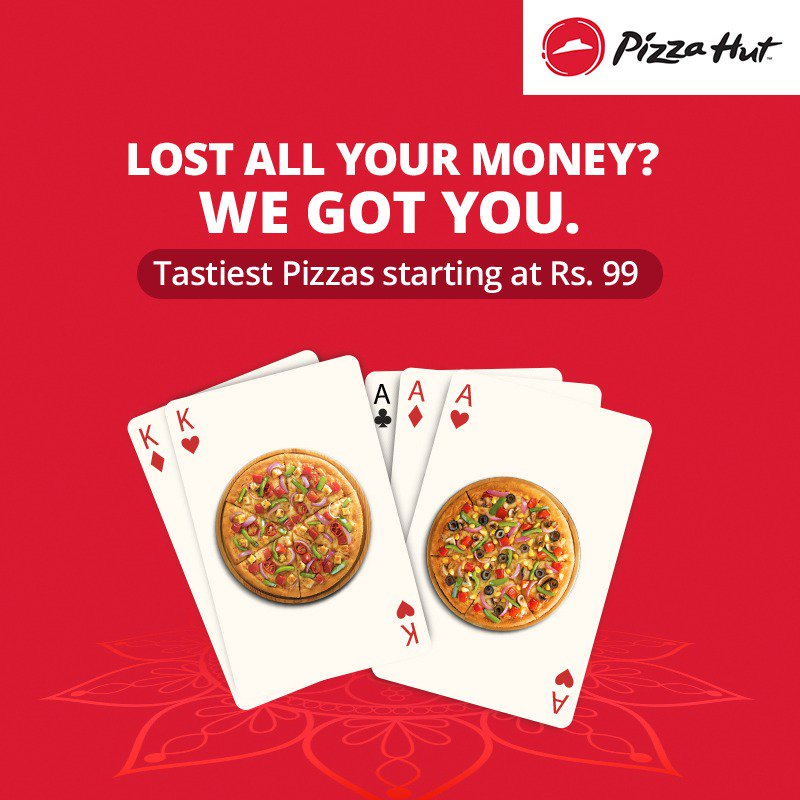 Tag a friend who is on a losing streak and make them feel better. TastiestPizzasAt99 https t.co TUWtwnATcE