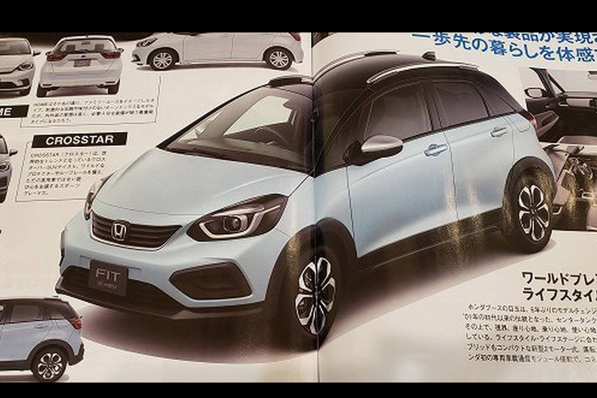Carbuyer On Twitter Leaked The New Honda Jazz There Ll Even Be A Crosstar Suv Styled Version Like The Ford Fiesta Active Here S What You Can Expect Https T Co Cdxm6ftkkb Https T Co Gezlybqaup