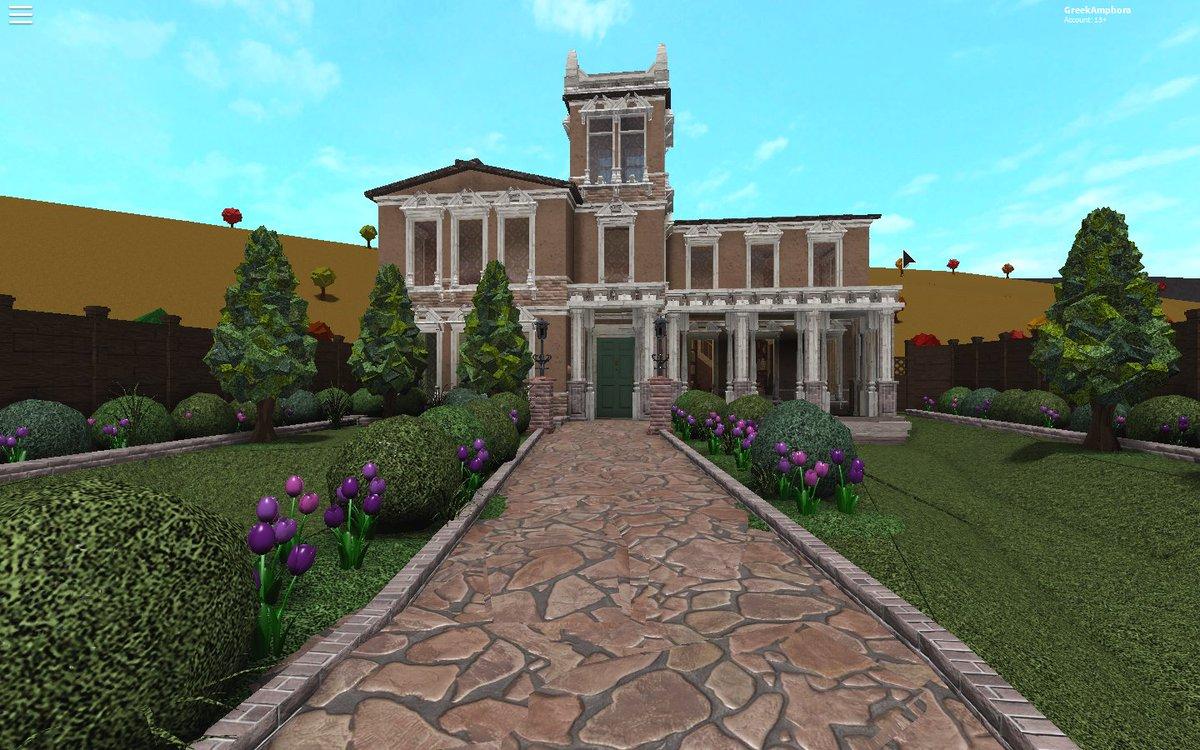 Rustypluviam On Twitter New Bloxburg Build Victorian