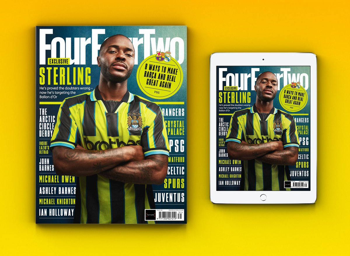 ISSUE 306, OUT NOW! 🏴 @sterling7 exclusive  🇳🇴 The Arctic Circle Derby 🏆 Barcelona & Real Madrid 🇮🇪 When Henry robbed Ireland 🗣️ Ashley Barnes ⚔️ The Football War 🇮🇹 Meet the Irriducibili 🇳🇱 You Ask The Questions: Ronald de Boer  ➕ Plus much more  ➡️https://t.co/pbrAVgRiEd https://t.co/cOWsbulnZU