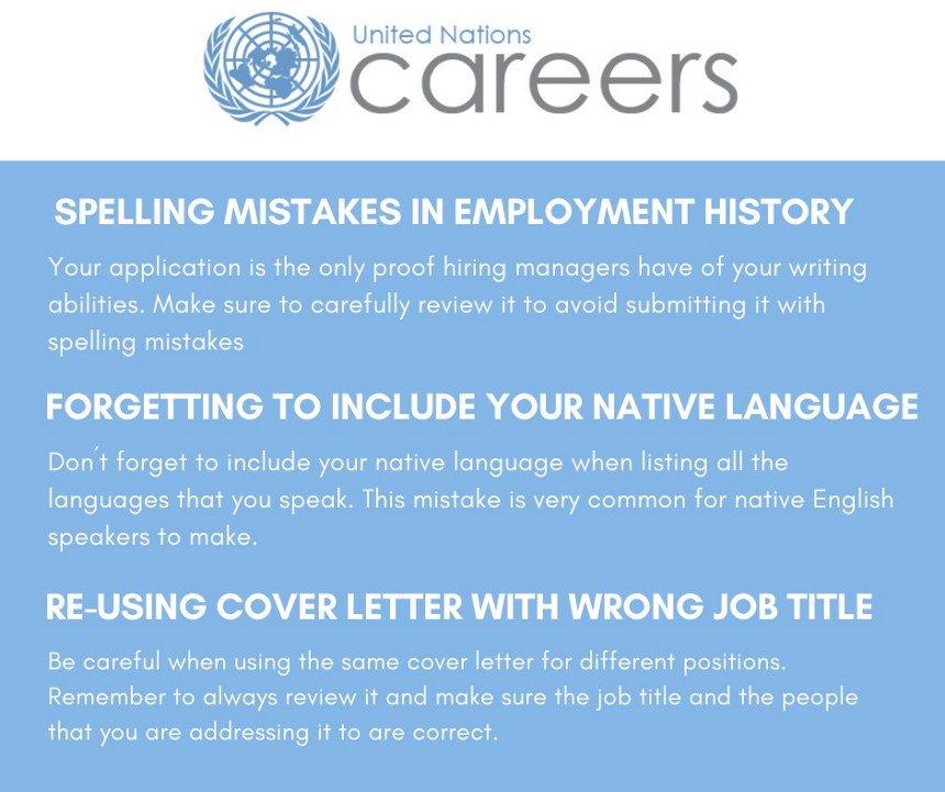 UN Careers on Twitter: \