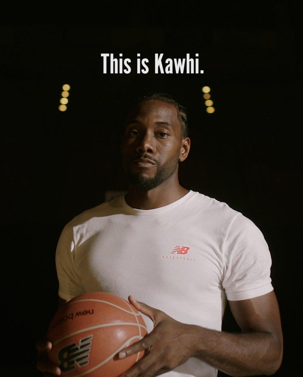 Reign Over LA. Kawhi Leonard. @newbalance. #WeGotNow