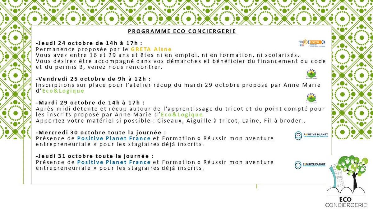 ECO CONCIERGERIE #80avenueRobertSchuman #QuartierEurope #SaintQuentinVenez découvrir l'Eco Conciergerie et les diverses actions proposées ! https://t.co/YSax3vGIkl