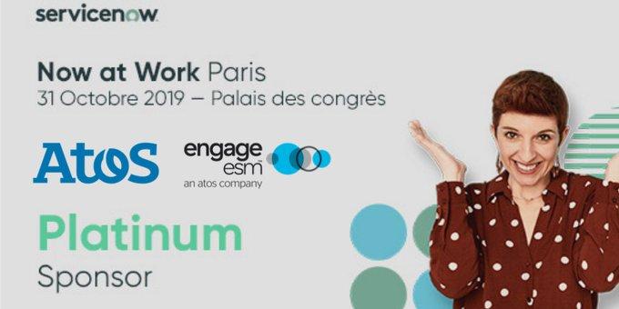 📅 RDV le 31 octobre prochain à #NowatWork19 Paris au #PalaisdesCongrès...