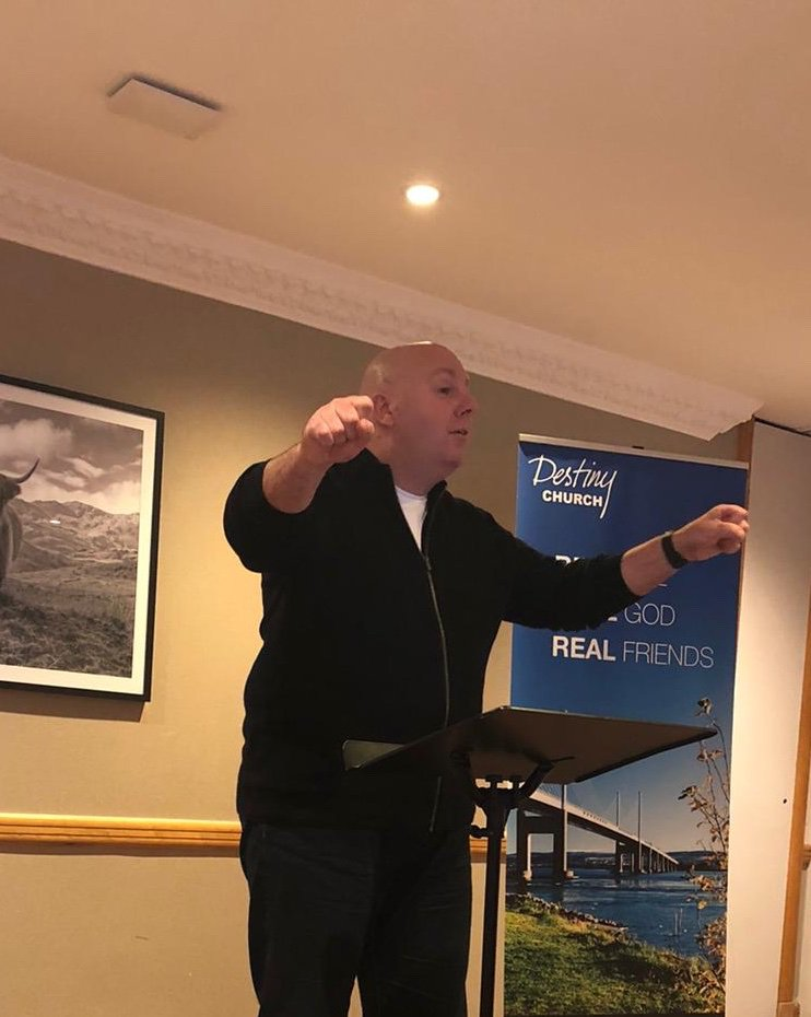 Thank you to Pastor Craig Denham @craigddestiny from all of us here for his powerful teaching in Inverness on Saturday and Sunday. We were strengthened and hugely encouraged by the wisdom he shared with such great humility  #onechurch  #destinyfamily  #leadershippic.twitter.com/fL4Djp2TCO