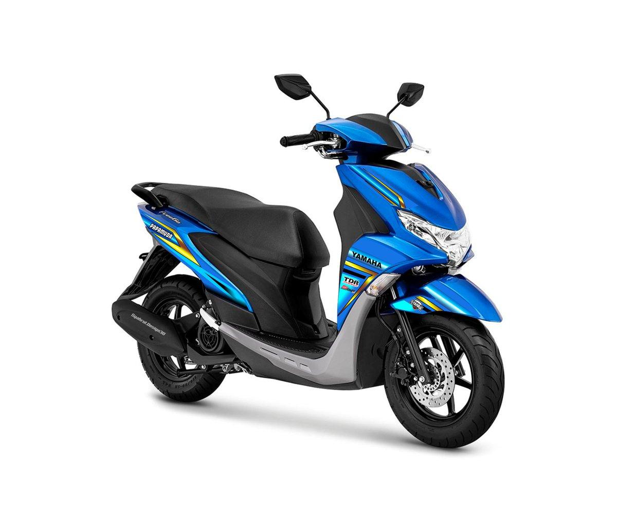 Custom stiker @yamahaindonesia @SDesign30 #stikermotor #stripingmotor #YAMAHA #freego #stikerfreego   Info wa 081244011591