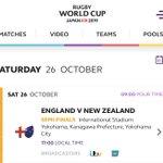 Image for the Tweet beginning: 🏴 ENGLAND vs NEW ZEALAND