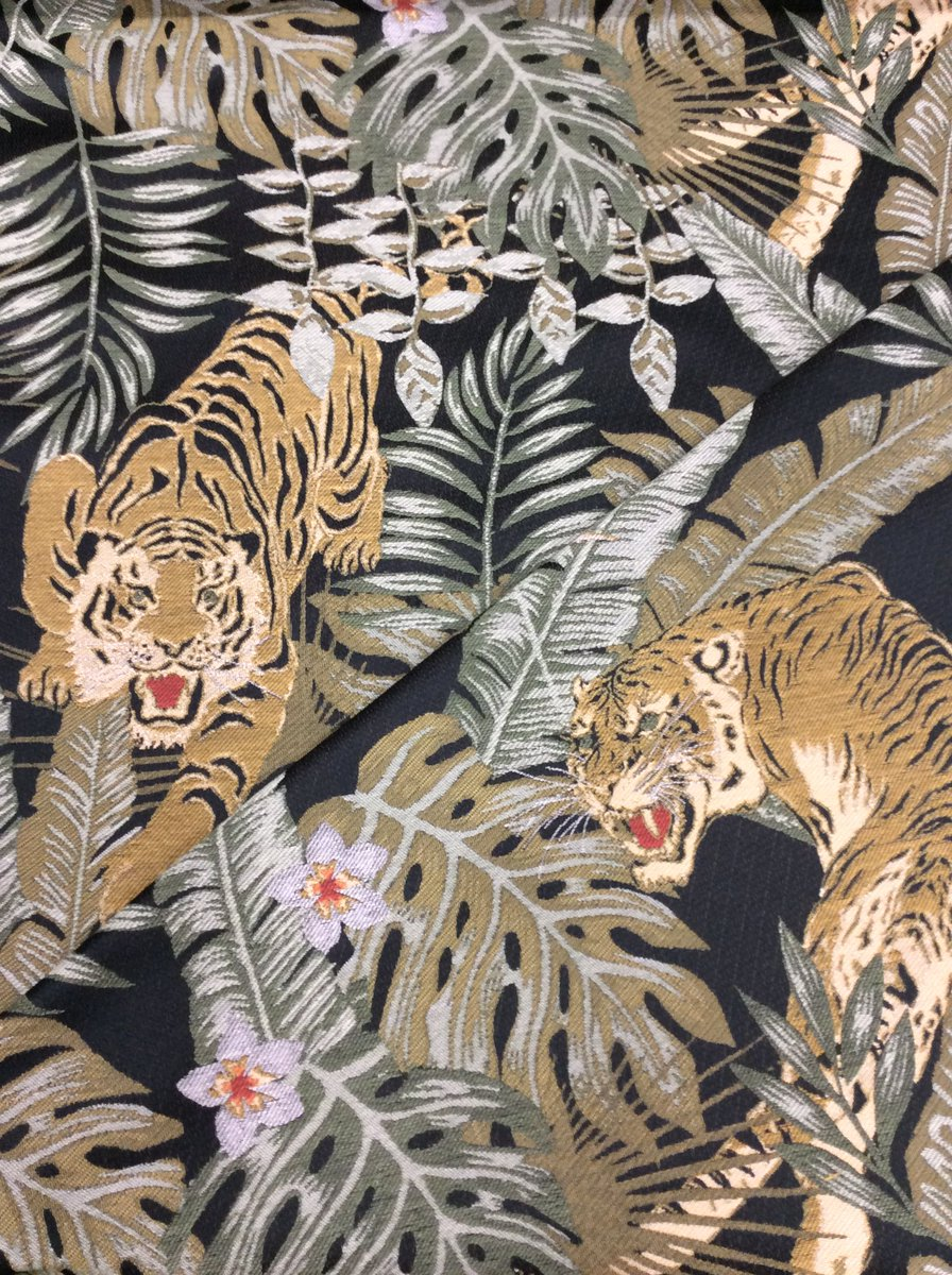 G Street Fabrics On Twitter Both Ferocious And Flamboyant This New Upholstery Fabric Will Enhance Any Adventurous Home Decor Click Link To View Online Https T Co Vwhagbtvjp Fabric Fabricshopping Gstreetfabrics Lovetosew Sewing Fashion