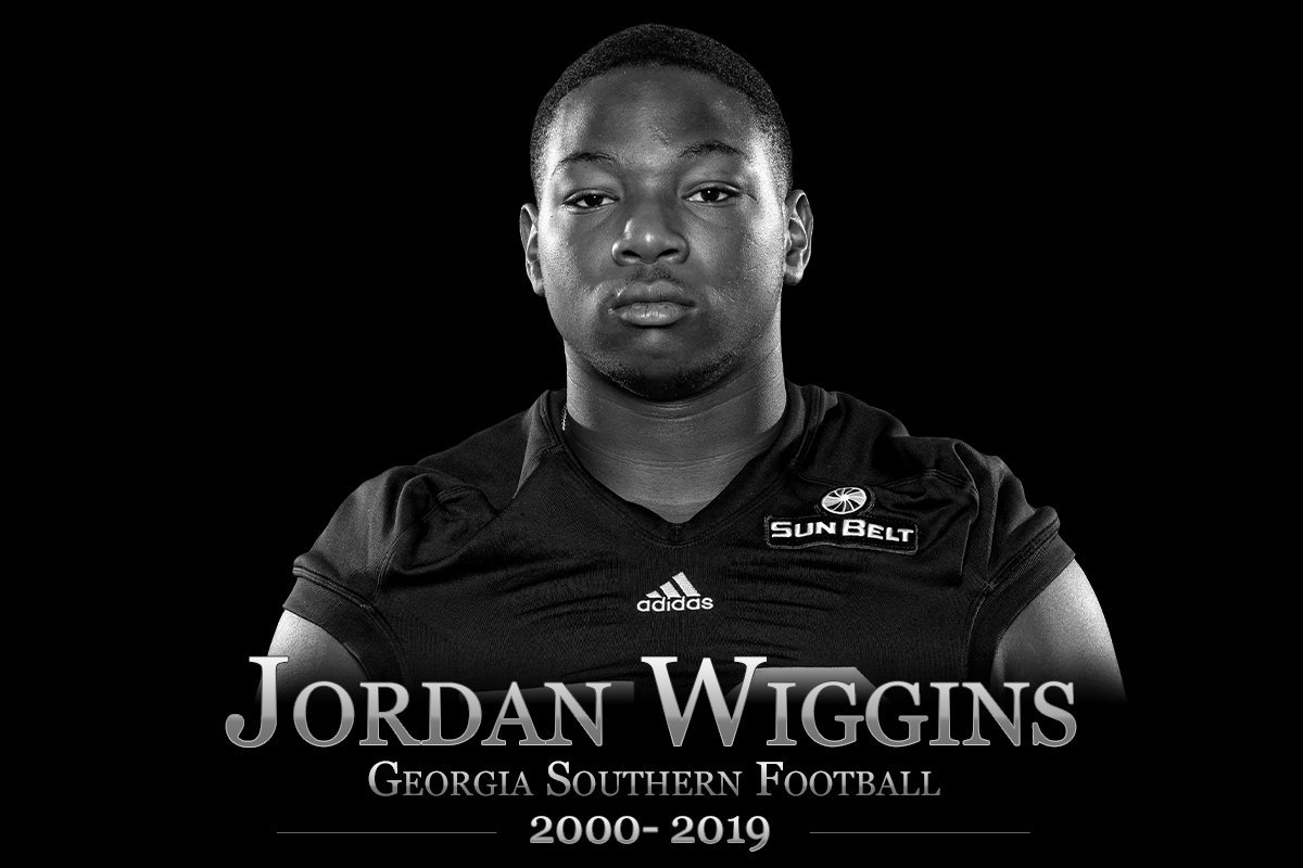 Georgia Southern Mourns the Loss of Jordan Wiggins; Freshman football player passed away Monday  RELEASE:
