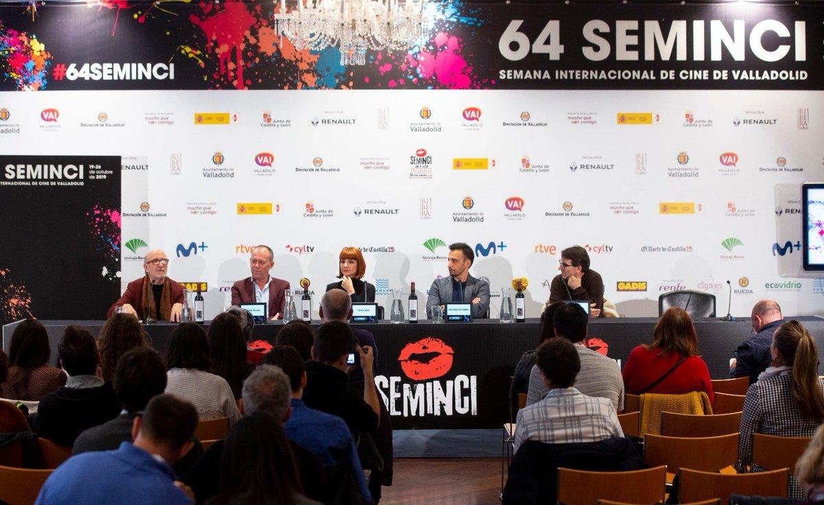 El #espírituRibera en las ruedas de prensa de @SEMINCI 🍷😉🎬Hoy con las #EspigasdeHonor de este ilustre festival 👏😊#64Semimci