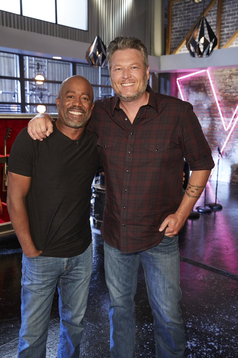 Not only is @DariusRucker an amazing mentor, he's just one hell of a guy. @NBCTheVoice
