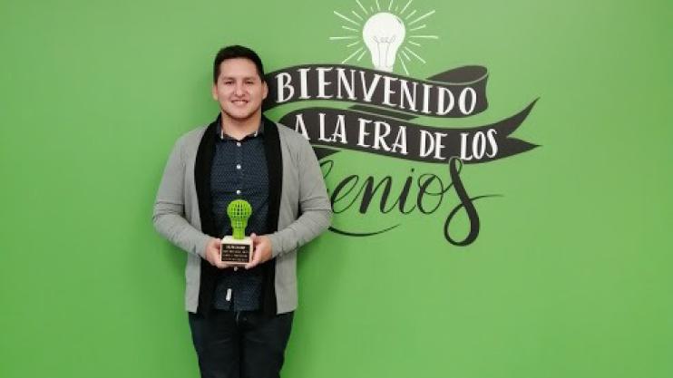 #ULNoticias Jaime Rodríguez alumno de Administración @udelima ganó el MOI, concurso organizado por @MAPFRE. Su innovador proyecto busca incentivar y promover en adolescentes la cultura del ahorro. http://bit.ly/2OCBs0U