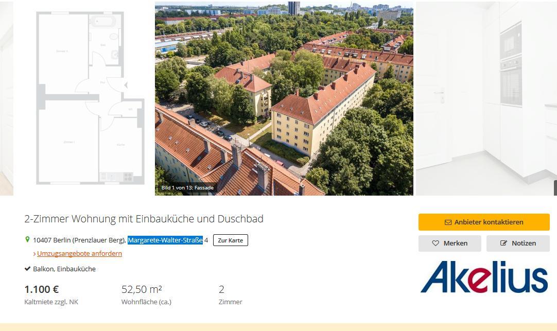 """Das es Wucher auch unterhalb des Strafbaren gibt, war Ihnen bisher nicht bekannt?  Knapp 21 Euro/m²   in einem normalen, sanierten 30erJahre-Bau in """"mittlerer Lage"""" (Mietspiegeloberwert 7.76 €) i s t  Wucher. pic.twitter.com/TN9MhrhYBk"""