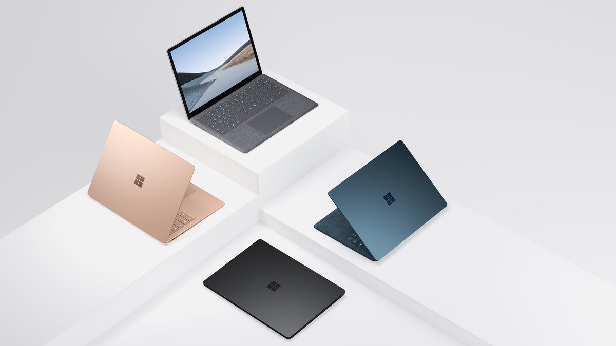 Make a powerful statement with the new Surface Laptop 3, pick your size and color to suit your style. Shop now: http://msft.social/ZicNUW