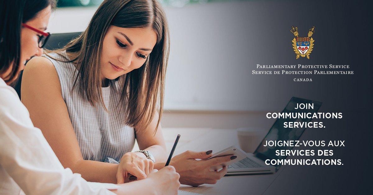 Nouvelle date limite pour le poste de Conseiller(ère) principal(e), services des communications - Date limite : 8 novembre 2019 - https://t.co/A27hqtVU7u