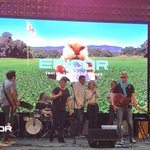 Our house band Cloud 9 lights up the stage at #EpicorIgnite.  #TeamEpicor