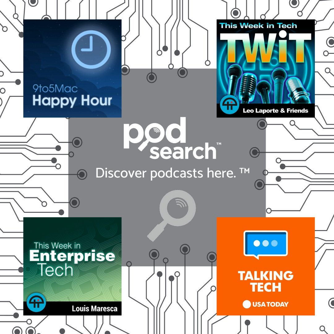 Podsearch On Twitter Stay On Top Of The Latest Tech News With Great Podcasts From Podsearch S Technology Category Techtuesday Podsearch Podcast Podcasts Technology Tech Technews Https T Co Prhwjuejqz