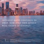 In July 2019, the Federal Reserve cut the federal funds rate for the first time since 2008. Will a lower interest rate boost property values? Find out by reading our new article on the impact of interest rates on CRE investing going forward:https://t.co/9vinLo2ZNr