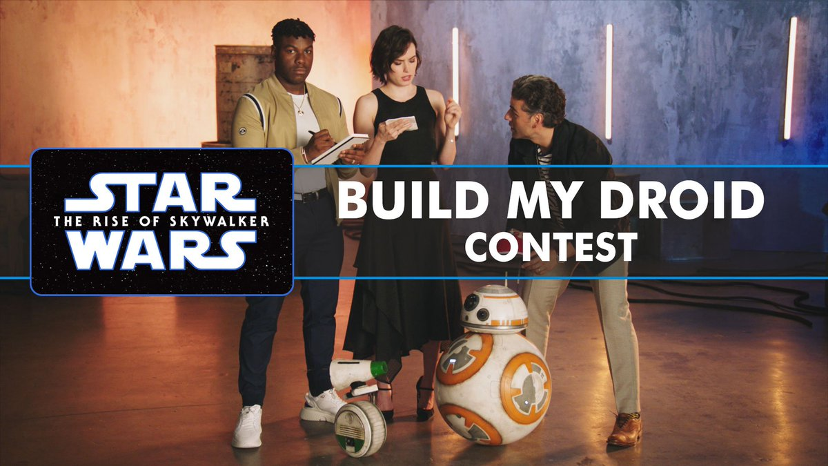 What's your Dream Droid Design?🤖 #LucasFilm will bring the winning entry to life & it will forever be a part of #StarWars- #ForceForChange & @FIRSTweets challenge you to #ImagineTheImpossible! (FYI: John, Daisy, Oscar & I are all sadly ineligible)😫