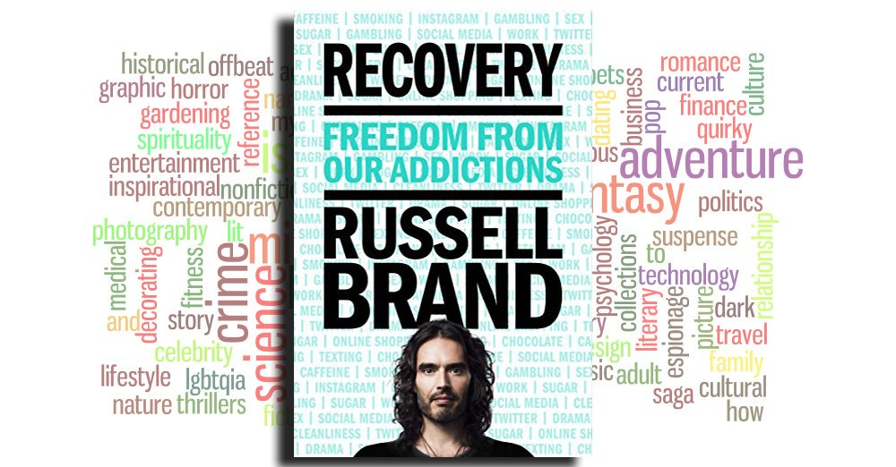 """Read the highly rated eBook """"Recovery: Freedom from Our Addictions"""" by Russell Brand https://amzn.to/2P6CfHP #aboutmebooks #bktwtrpic.twitter.com/aJha8egx94"""