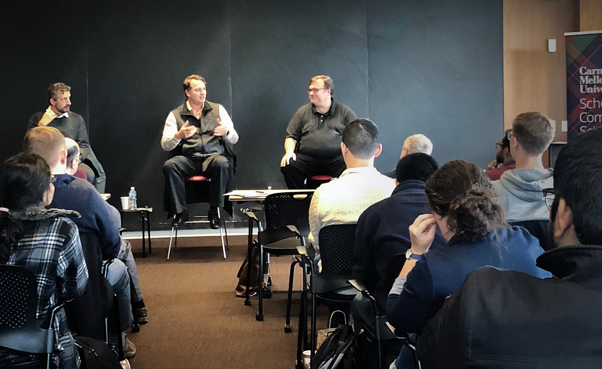 Recently @chris_urmson & our investors @reidhoffman and @mavolpi spoke to students at CMU (@SCSatCMU) to discuss the future of self-driving cars, the safety impact it will have, and the importance of picking co-founders you trust. Here's what they shared: https://medium.com/aurora-blog/a-conversation-with-chris-urmson-reid-hoffman-and-mike-volpi-6ecabd9dd750?sk=96ed32a298bdf19fe87ee01d14d08c52…