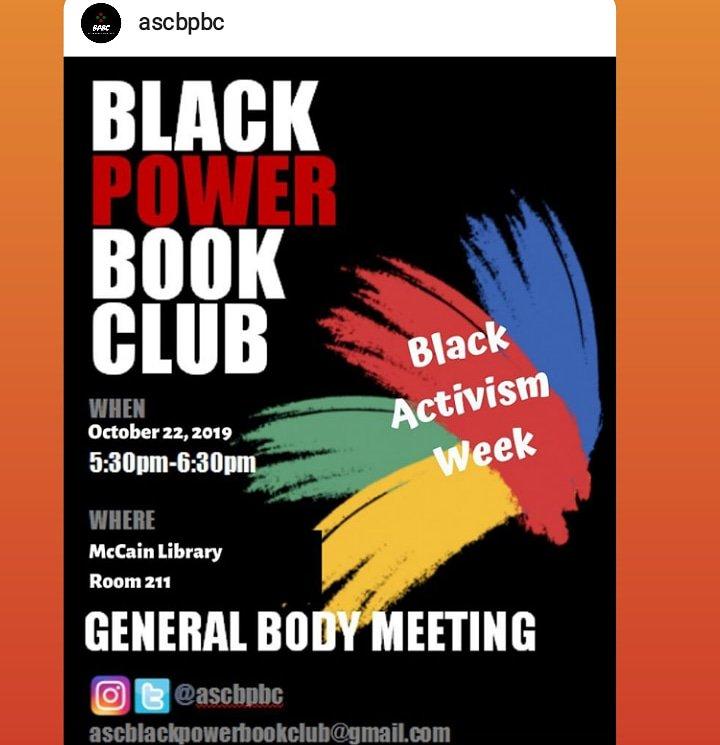 Join Agnes Scott College today as they kick off Black Activism Week!   Must have your own transportation.   @ascbpbc   #AgnesScottCollege #GeorgiaStateUniversity  #Atlanta #BlackPower  #BlackExcellence  #GSU19 #GSU20 #GSU21 #GSU22