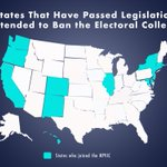 Image for the Tweet beginning: These states have signed on