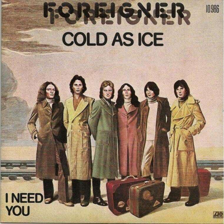 On This Day - October 22nd 1977. Foreigner's Cold As Ice peaks at #6 on Billboard's Hot 💯 @ForeignerMusic https://t.co/KElYsXjRAz