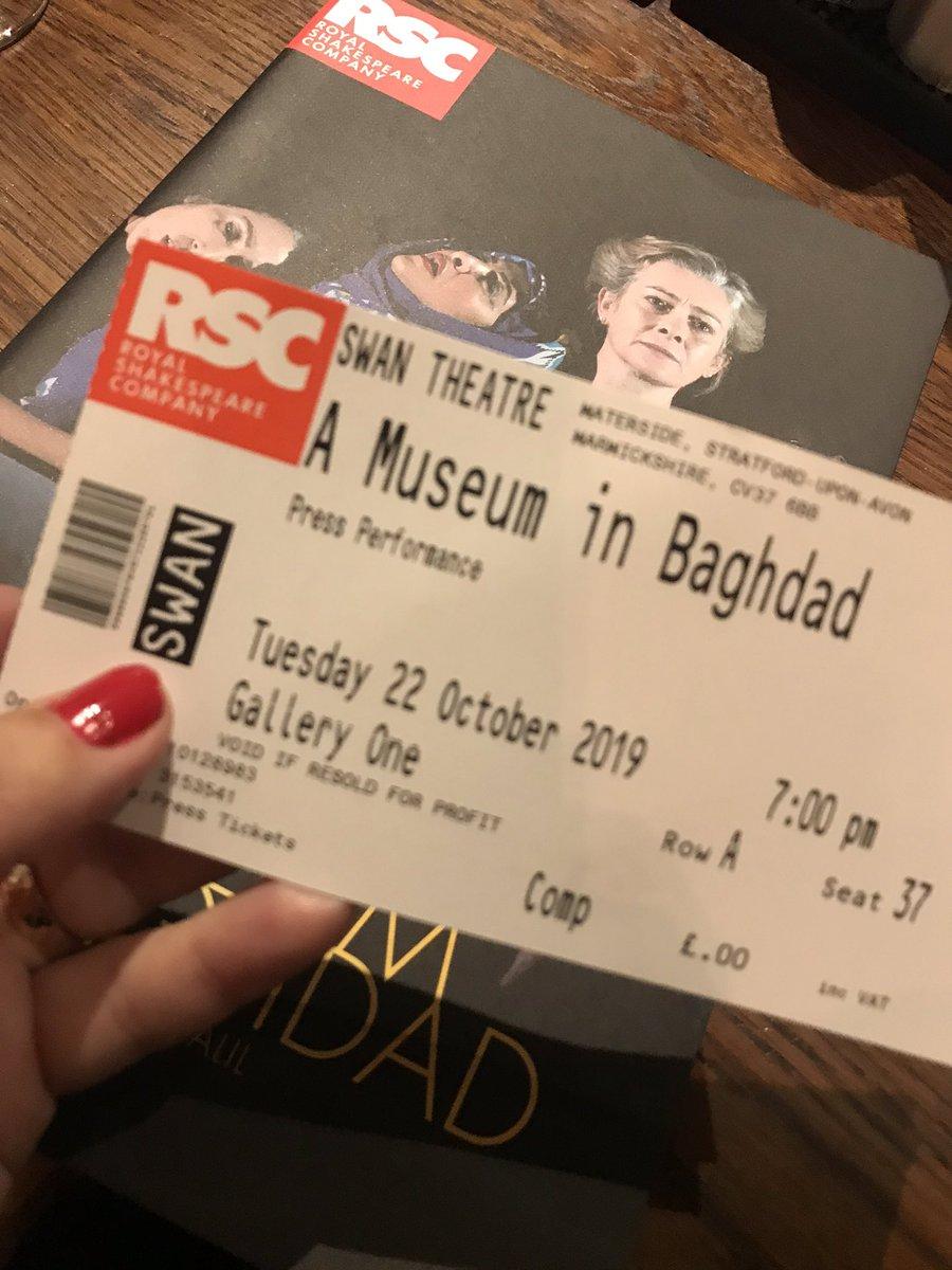 @hannykha @TheRSC Just wonderful !!! 👏🏼👏🏼👏🏼 #RSCMuseum Press Night !