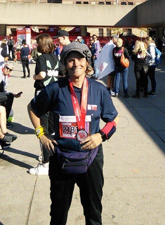 Fin de #marathon - Mes résultats pour le Toronto Waterfront Marathon: 5h 09 min12 sec https://t.co/dU4qQRmDRI https://t.co/5lHQdFtn4o