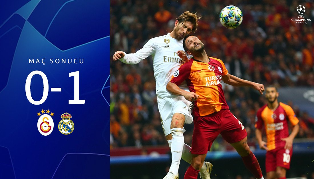 @GalatasaraySK's photo on galatasaray 0-1 real madrid